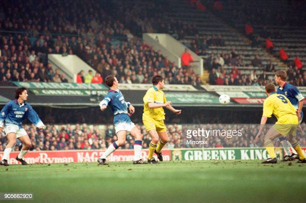 English League Division One match at Portman Road Huddersfield Town AFC 1 2 Ipswich Town FC 1st May 1996