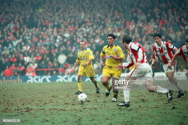 English League Division One match at the Victoria Ground Huddersfield Town AFC 1 1 Stoke City Ben Thornley 16th March 1996