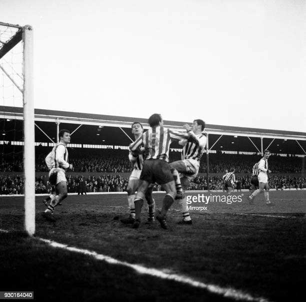 English League Division One match at the Victoria Ground Stoke City 1 v West Bromwich Albion 1 Maurice Setters loses his cool in a late fracas with...