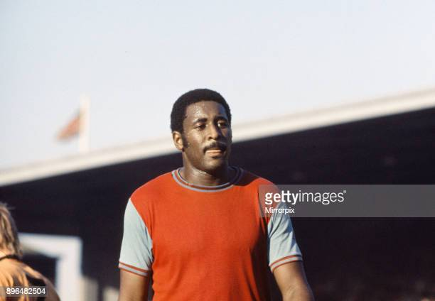 English League Division One match at Upton Park West Ham United 1 v Wolverhampton Wanderers 0 West Ham's Clyde Best 23rd October 1971