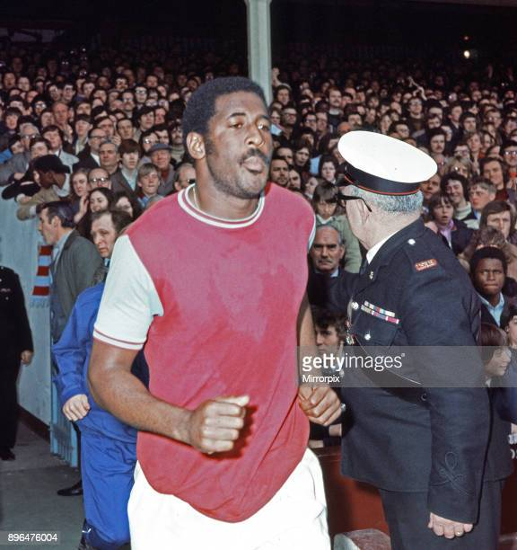 English League Division One match at Upton Park West Ham United 2 v Leeds United 2 West Ham's Clyde Best 31st March 1972