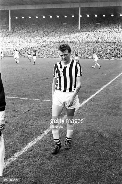 English League Division One match at Villa Park Aston Villa 2 v West Bromwich Albion 0 Clive Clark makes the sad lonely walk to the dressing room...
