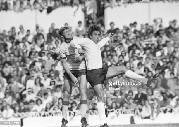 English League Division One match at White Hart Lane. Tottenham Hotspur 3 v Crystal Palace 0. Martin Chivers of Spurs, 18th September 1971.