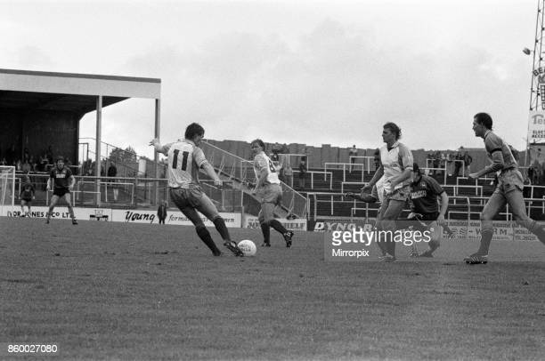 English League Division Three match at Home Park. Plymouth Argyle 0 -1 Reading, 24th August 1985.