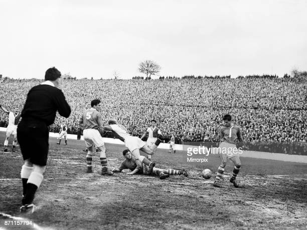 English League Division Two match at The Valley Charlton Athletic 3 v Blackburn Rovers 4 Action during the match in which Blackburn were promoted to...
