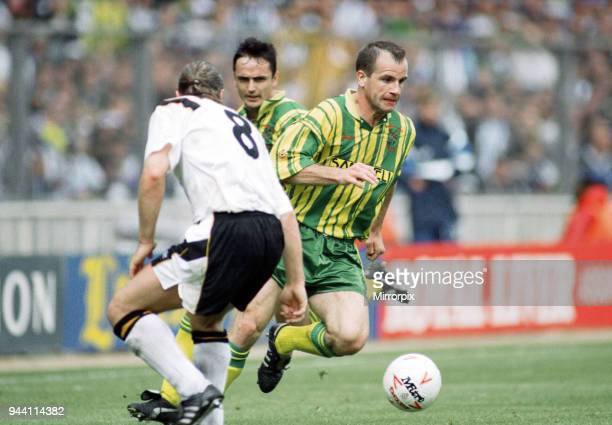 English League Division Two Play Off Final at Wembley Stadium West Bromwich Albion 3 v Port Vale 0 Action during the match 30th May 1993