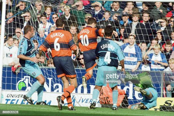 English League Division Two Wycombe Wanderers 5 3 Reading match held at Adams Park 2nd October 1999