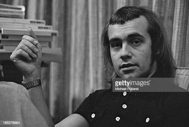 English lyricist Bernie Taupin 1st November 1973 Taupin is best known for writing the lyrics to the songs of Elton John