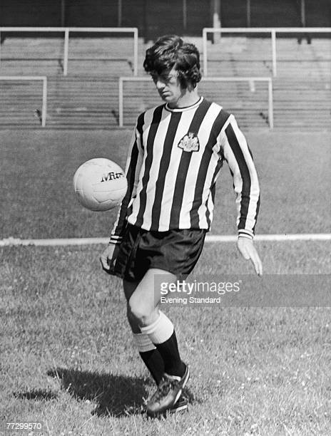English midfielder Terry Hibbitt of Newcastle United FC in training 27th July 1972