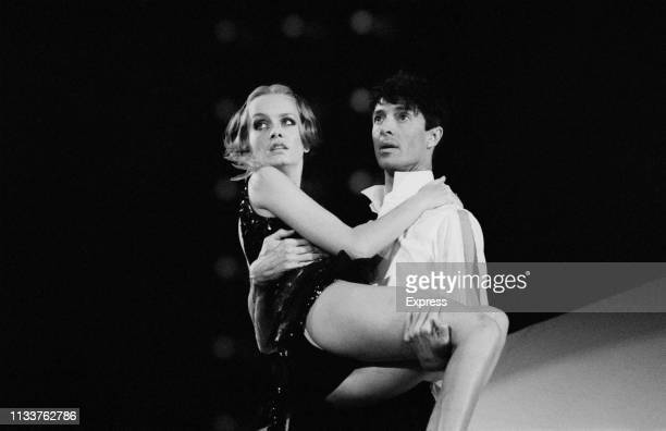 English model, actress, and singer Twiggy performing S'Wonderful with American actor, dancer, singer, theatre director, producer, and choreographer...