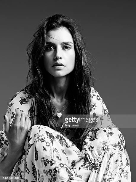 English model and actress Hannah Ware is photographed for Glamour UK on May 27, 2015 in Los Angeles, California.