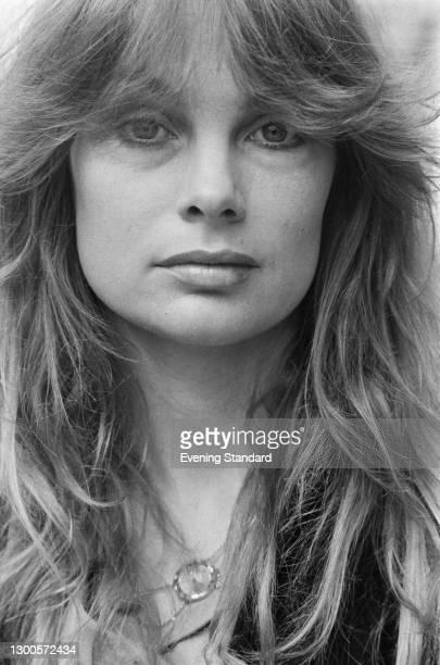 English model and actress Jean Shrimpton, UK, 11th May 1973.