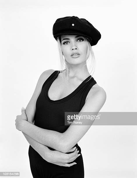 English model and pop singer Mandy Smith circa 1986