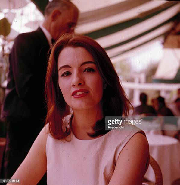 English model and showgirl Christine Keeler a key figure in the scandal involving Defence Minister John Profumo which became known as the 'Profumo...