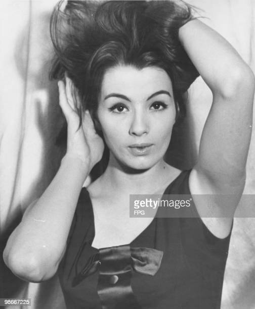 English model and showgirl Christine Keeler London 16th May 1963 Her affair with British Secretary of State for War John Profumo caused a major...
