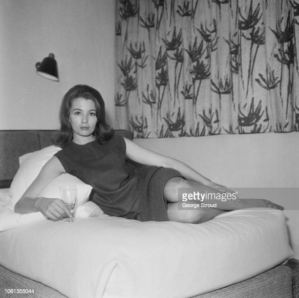 English model and showgirl Christine Keeler UK 28th March 1963