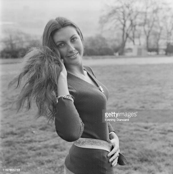 English model Marilyn Cole posed on 25th February 1971