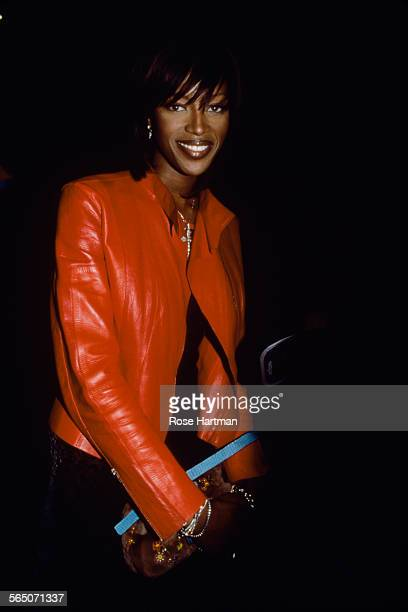 English model Naomi Campbell attends the 3rd Annual Design Industries Foundation Fighting AIDS Benefit at the Metropolitan Pavilion New York City USA...