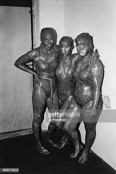 English mud wrestlers in County Kerry Ireland circa 1985