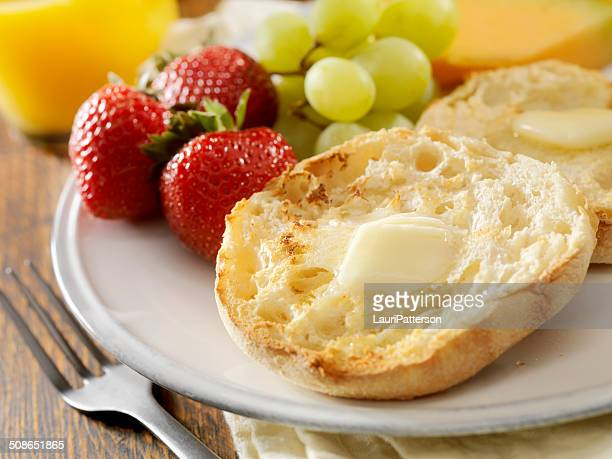 english muffins - spreading stock pictures, royalty-free photos & images