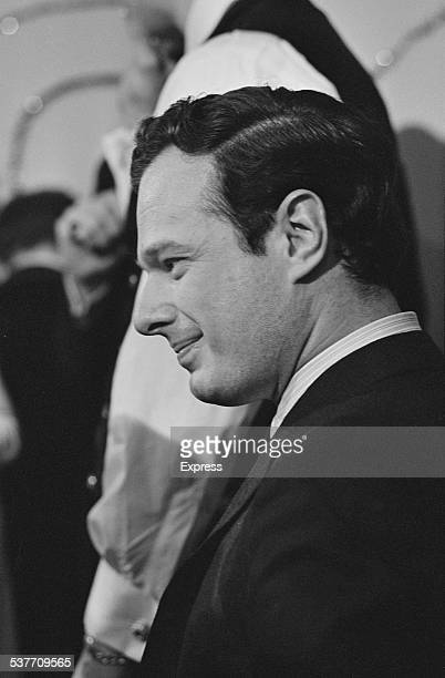 English music entrepreneur Brian Epstein attends the 'Ready Steady Go!' New Year party, January 1966.