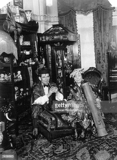 English music hall entertainer Marie Lloyd born at her home in Golders Green London with her husband Bernard Dillon She was famous for the song 'The...