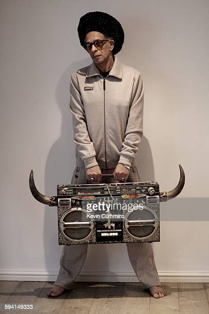 English musician and DJ Don Letts, portrait, London, United Kingdom, 3rd April 2014.