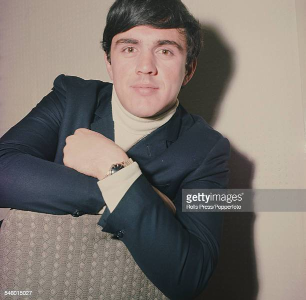 English musician and drummer with pop group The Dave Clark Five Dave Clark posed in 1964