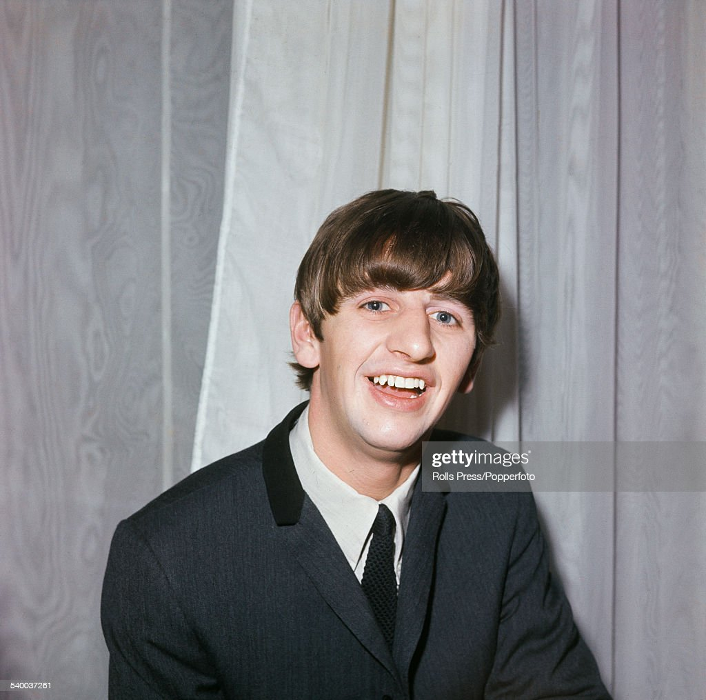 English Musician And Drummer With The Beatles Ringo Starr Pictured Backstage At A Concert