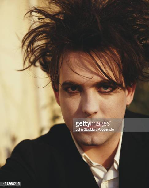 English musician and lead singer/songwriter of rock band The Cure Robert Smith circa 1995