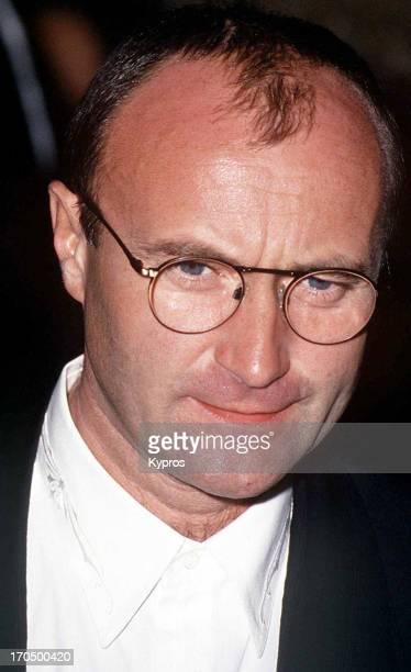 English musician and singer Phil Collins circa 1993
