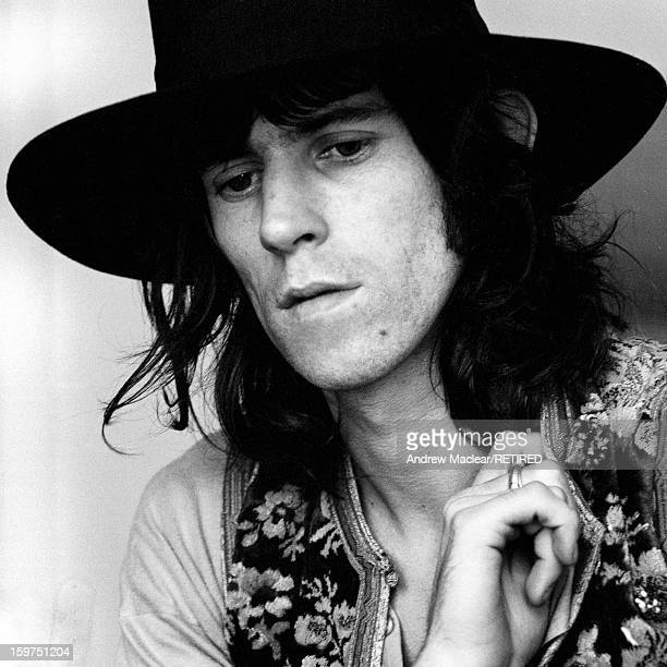 English musician and songwriter Keith Richards of The Rolling Stones in London 1968