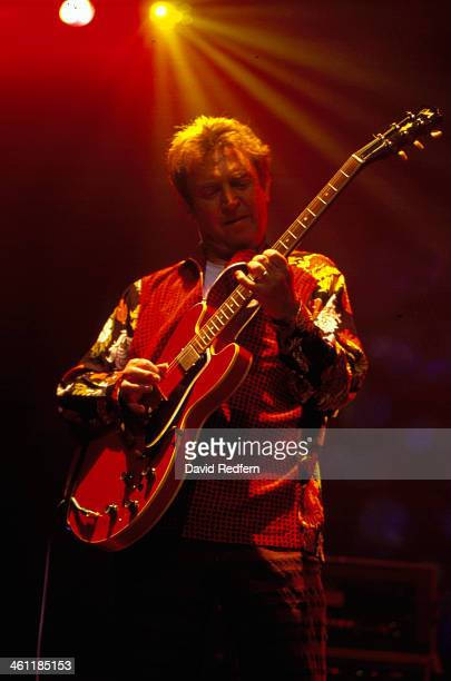 English musician Andy Summers on stage at Royal Festival Hall London 2001
