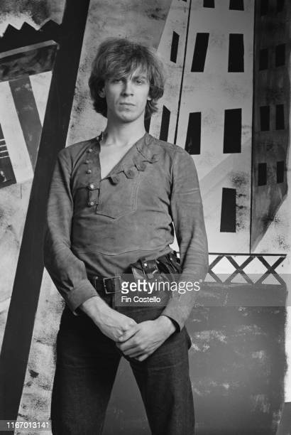 English musician author antiquarian musicologist and poet Julian Cope of post punk band The Teardrop Explodes UK August 1981