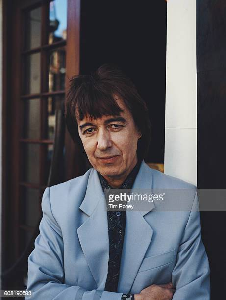 English musician Bill Wyman best known as the bassist for the Rolling Stones circa 1985