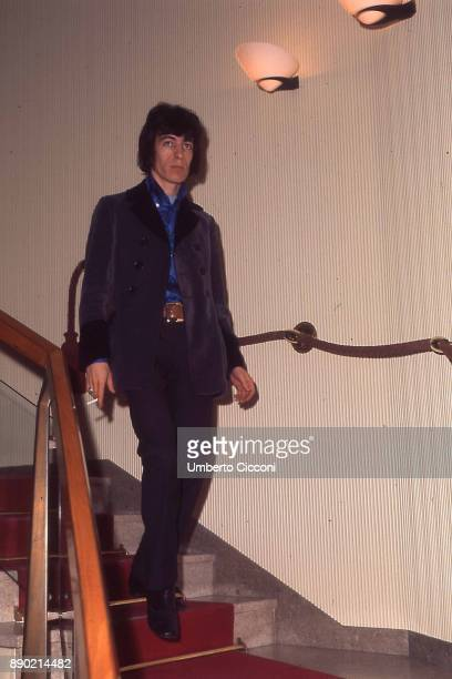 English musician Bill Wyman is Rome with his band 'The Rolling Stones' for the band's first performances in Italy 1967