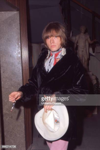 English musician Brian Jones is Rome with his band 'The Rolling Stones' for the band's first performances in Italy 1967
