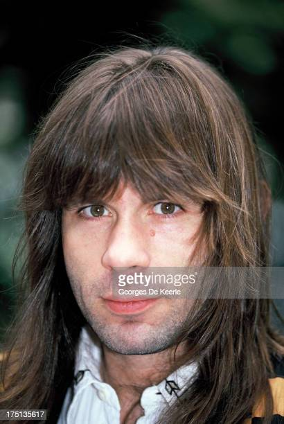 English musician Bruce Dickinson of Iron Maiden attends a photocall for the release of the gold 'Earthquake Album' by the Armenian earthquake appeal...