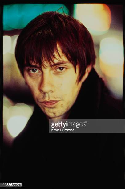 English musician Chris Acland of rock band Lush, March 1996.