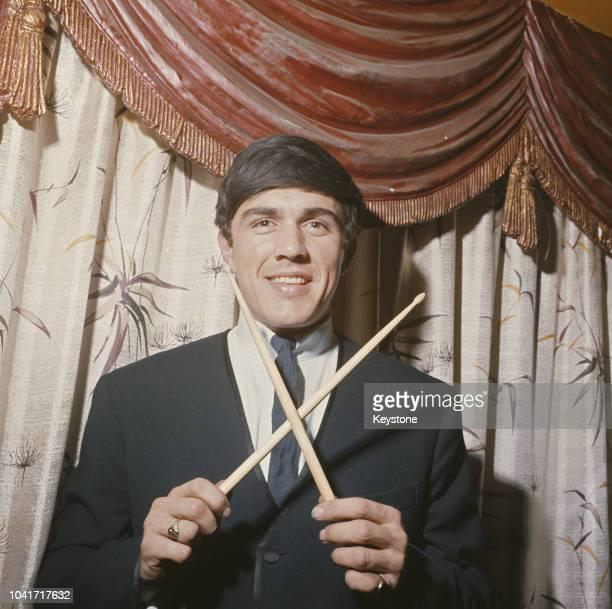 English musician Dave Clark of British beat group The Dave Clark Five circa 1965