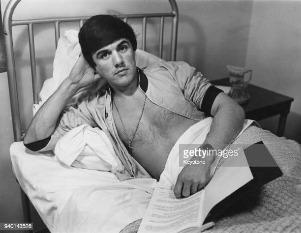English musician Dave Clark recovers from a stomach ulcer in a London nursing home 18th June 1964