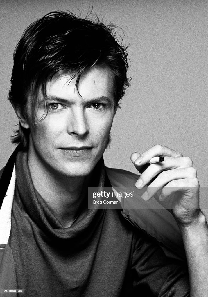 English musician David Bowie is photographed in 1981 in Los Angeles, California.