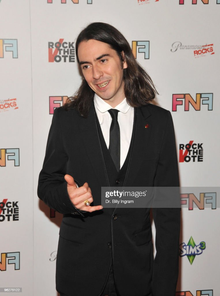 English musician Dhani Harrison arrives at the Friends And Family GRAMMY Event at Paramount Studios on January 29, 2010 in Los Angeles, California.