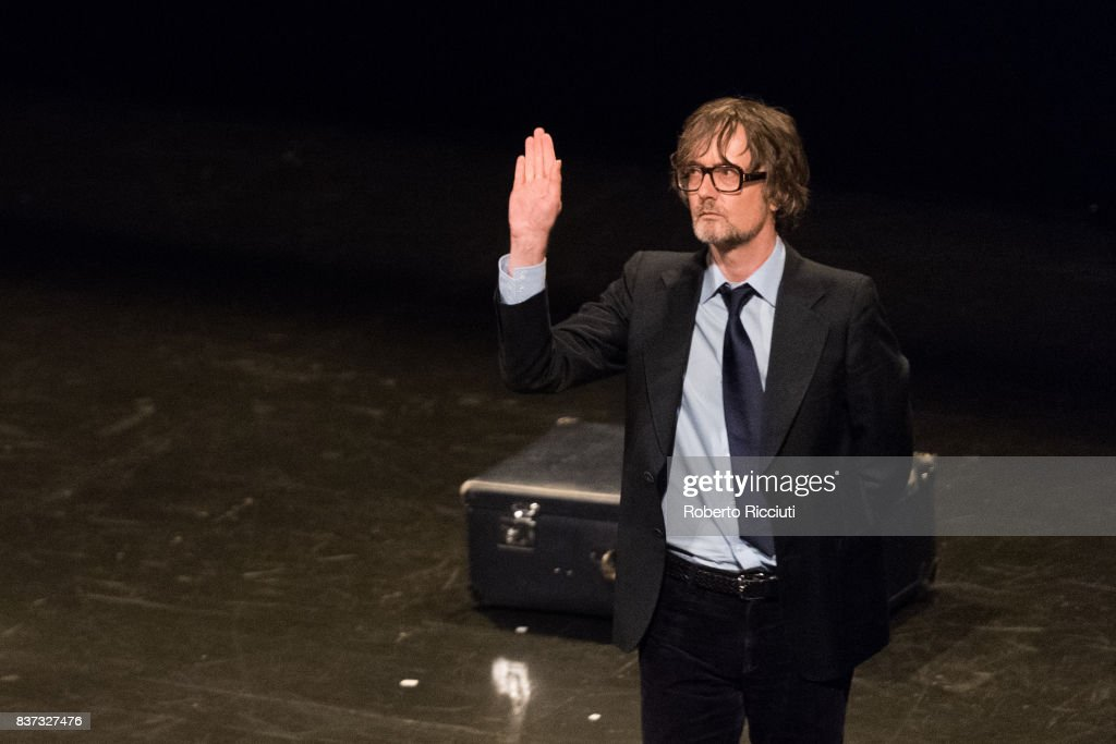 English musician Jarvis Cocker performs 'Room 29' on stage at King's Theatre as part of the 70th Edinburgh International Festival on August 22, 2017 in Edinburgh, Scotland.