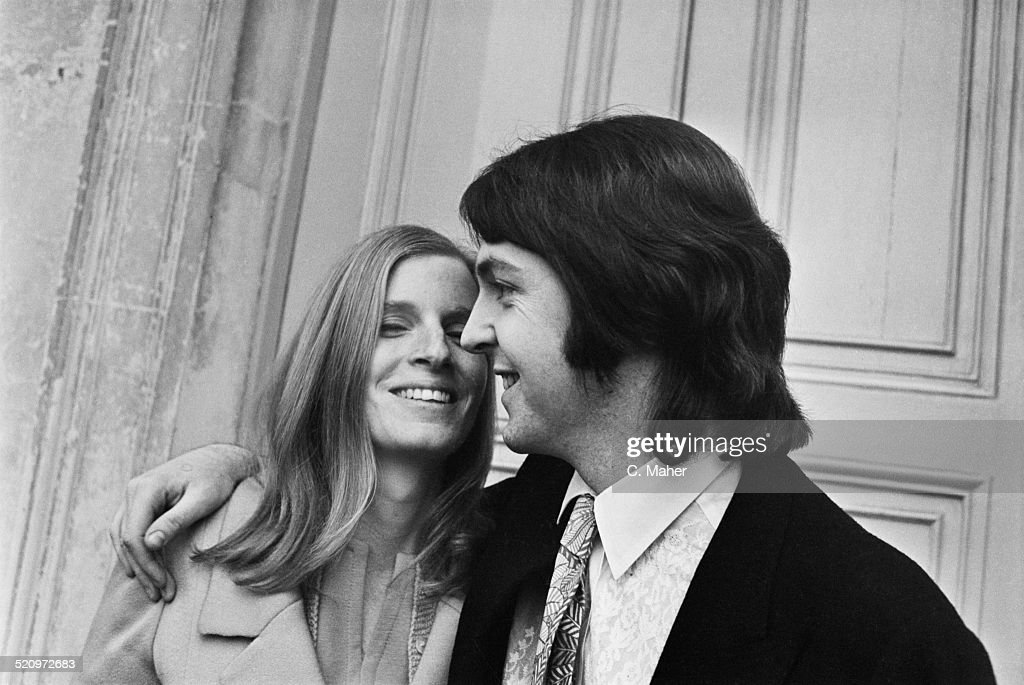 English Musician Singer And Songwriter Paul McCartney Marries American Photographer Linda Eastman
