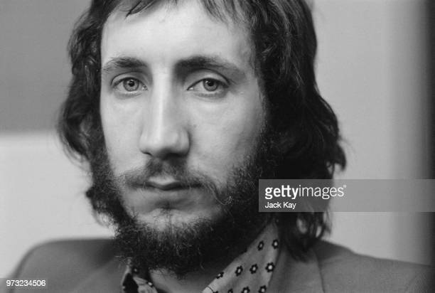 English musician singer songwriter and multiinstrumentalist Pete Townshend of rock band The Who UK 27th November 1972