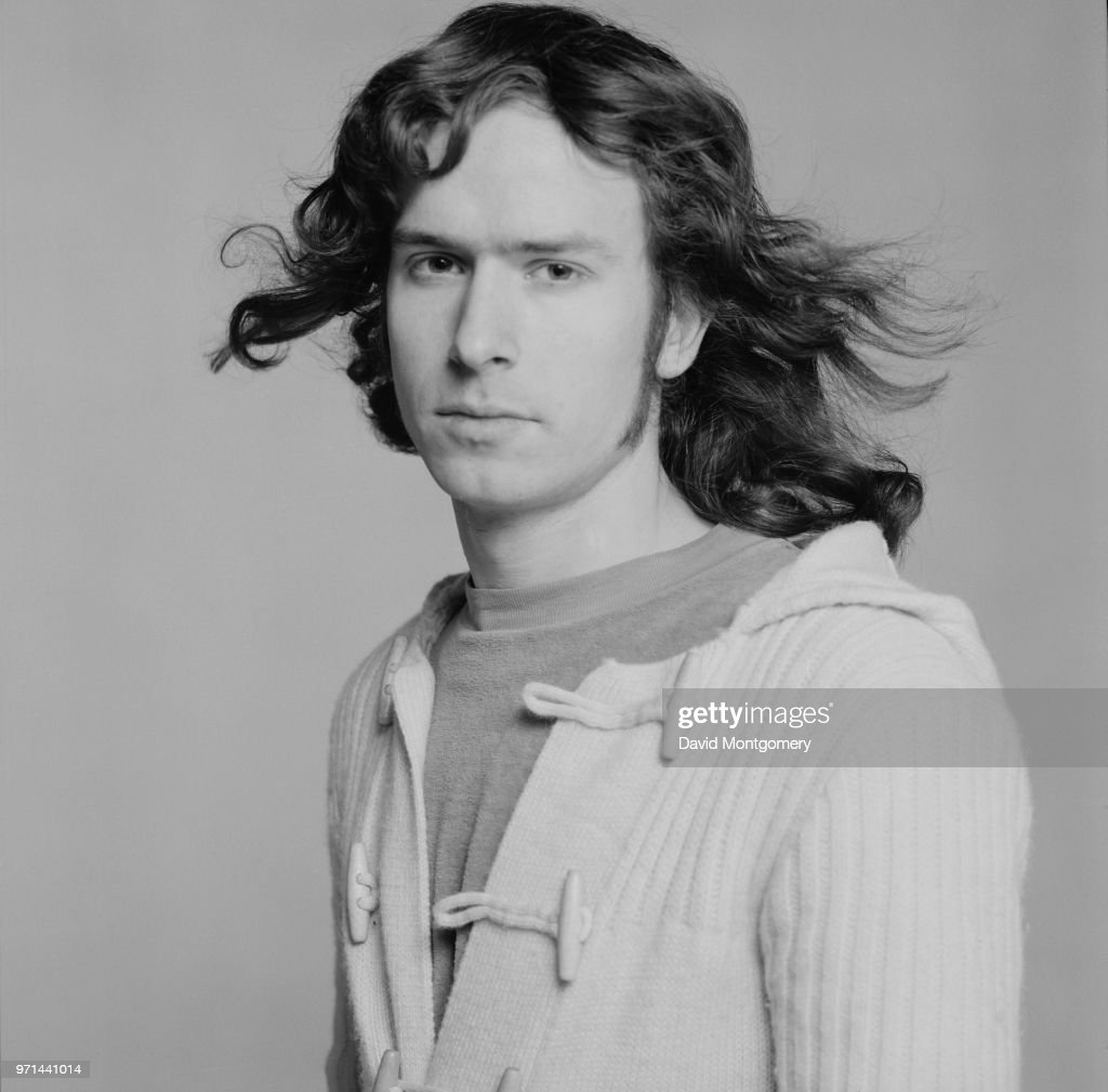 English musician, songwriter, singer, and film composer Tony Banks of rock band Genesis, UK, January 1976.