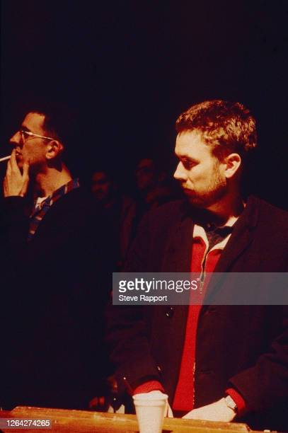 English musicians Jerry Dammers and Richard Coles, Red Wedge Tour, Birmingham Odeon, Birmingham, 1/27/1986. During the latter half of the 1980s, the...