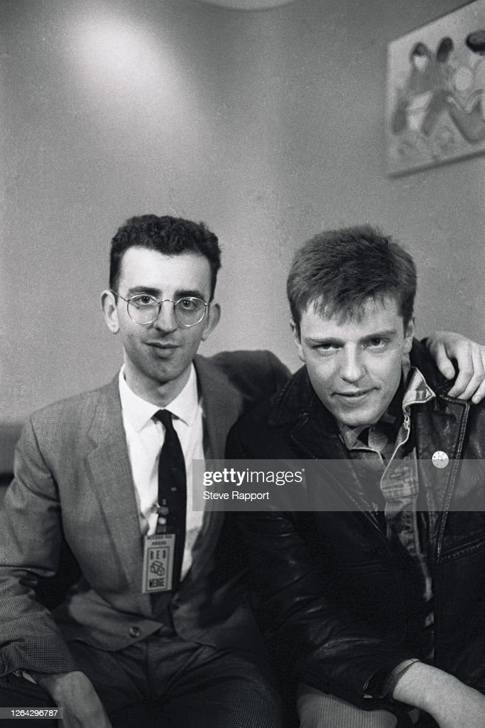 Richard Coles And Suggs On The Red Wedge Tour : ニュース写真