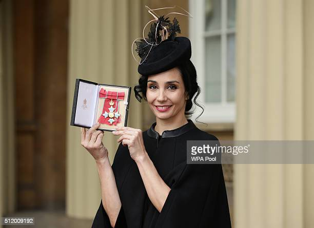 English National Ballet artistic director Dr Tamara Rojo is made a CBE by the Prince of Wales during an Investiture ceremony at Buckingham Palace on...